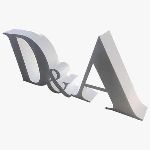 letras grandes corcho