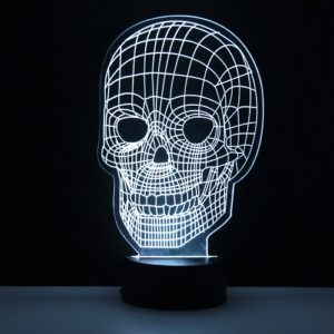 Lámpara led calavera