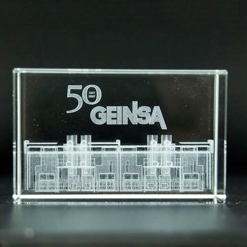 CUBO ANIVERSARIO 3D HORIZONTAL