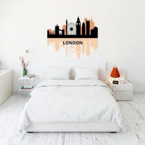 Vinilo para decorar paredes Londres