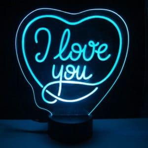 lámpara-led-I-love-you