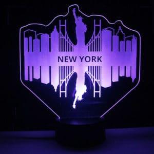lámpara-led-Nueva-York-rosa